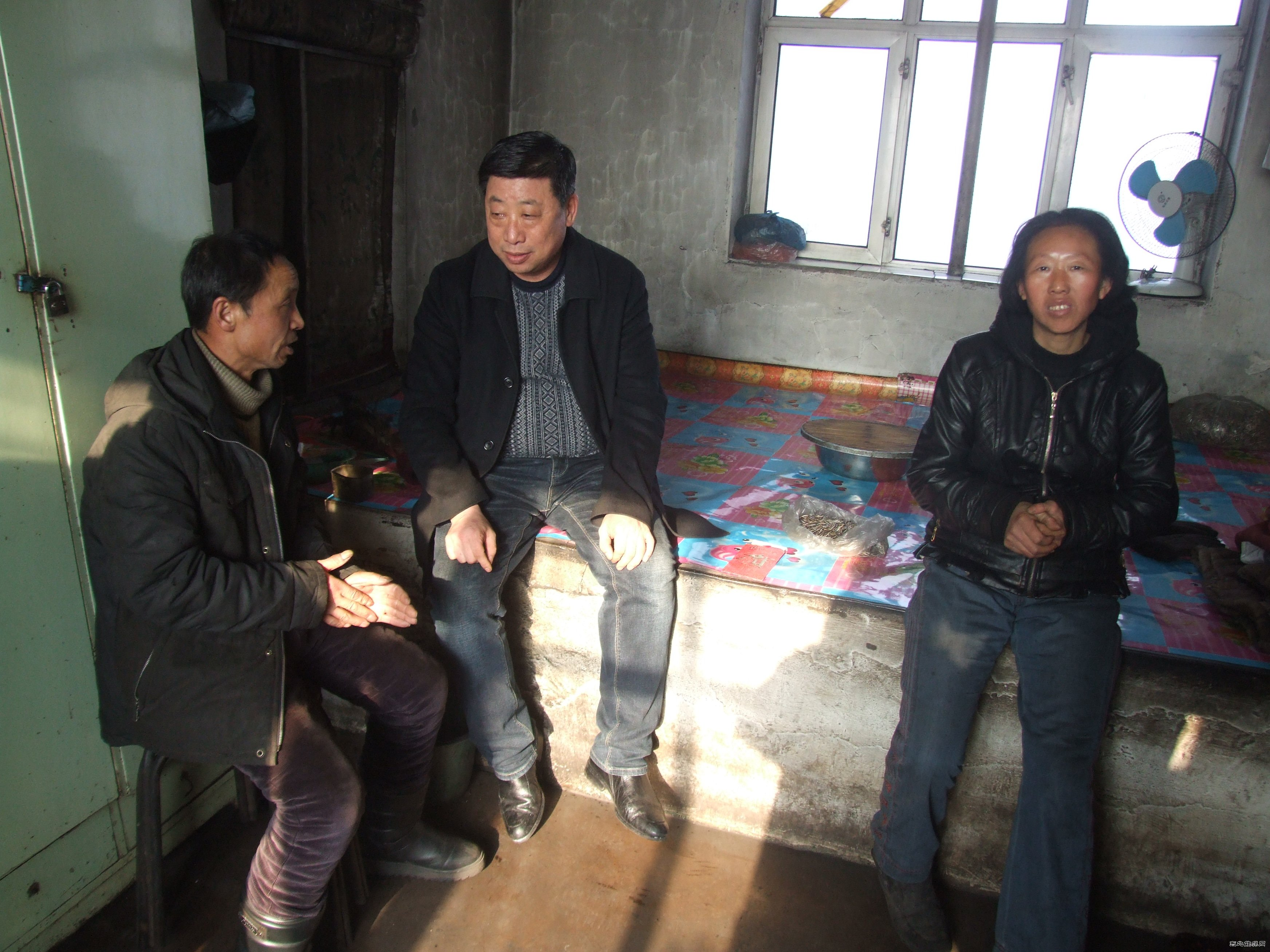 龙煤向阳矿春节期间开展扶贫送温暖活动