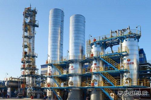 锦西石化废氢装置回收现场.